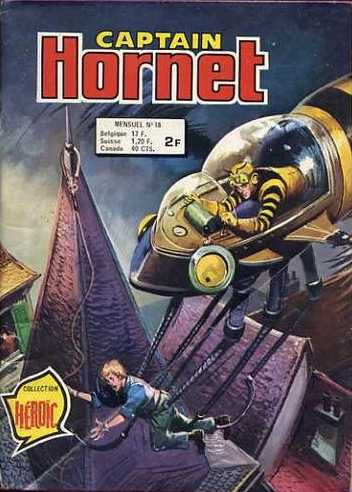 Scan de la Couverture Captain Hornet n° 18
